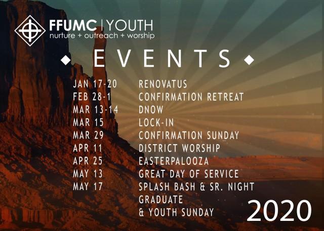 Youth Calendar 2020